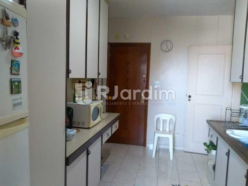 cozinha  - Apartamento À Venda - Lagoa - Rio de Janeiro - RJ - LAAP31999 - 16