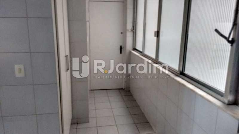 área - Compra Venda Imóveis Apartamento Lagoa 3 Quartos - LAAP32000 - 12