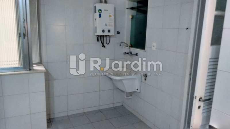 área - Compra Venda Imóveis Apartamento Lagoa 3 Quartos - LAAP32000 - 11
