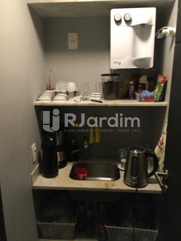 Área do café - Compra Venda Imóveis Sala Comercial Lagoa - LASL00200 - 12