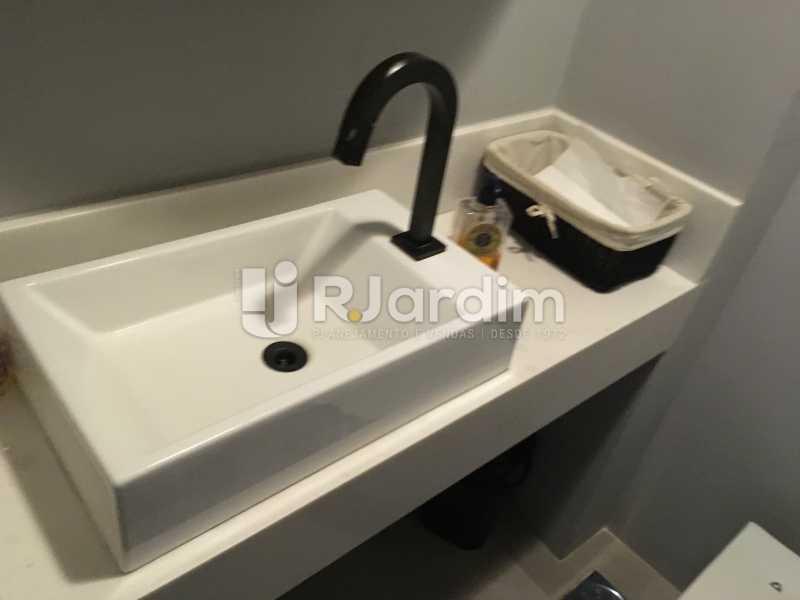 Banheiro 1 - Compra Venda Imóveis Sala Comercial Lagoa - LASL00200 - 20