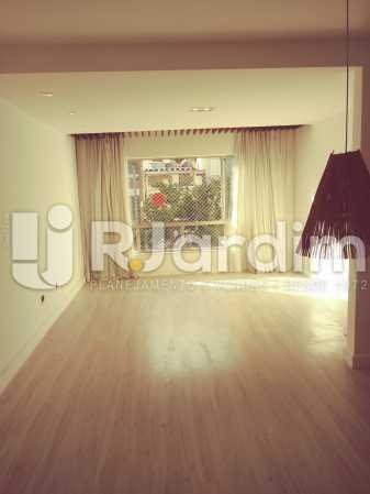 SALA ESTAR - Apartamento Rua Barão da Torre,Ipanema, Zona Sul,Rio de Janeiro, RJ Para Alugar, 3 Quartos, 100m² - LAAP32026 - 1