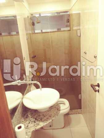 BANH SOCIAL - Apartamento Rua Barão da Torre,Ipanema, Zona Sul,Rio de Janeiro, RJ Para Alugar, 3 Quartos, 100m² - LAAP32026 - 14