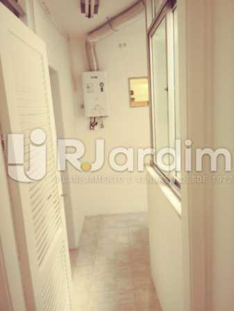 AQUECEDOR NA ÁREA - Apartamento Rua Barão da Torre,Ipanema, Zona Sul,Rio de Janeiro, RJ Para Alugar, 3 Quartos, 100m² - LAAP32026 - 19
