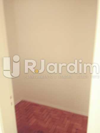 QUARTO SERVIÇO - Apartamento Rua Barão da Torre,Ipanema, Zona Sul,Rio de Janeiro, RJ Para Alugar, 3 Quartos, 100m² - LAAP32026 - 20
