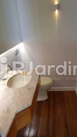 LAVABO  - Apartamento Rua Carvalho Azevedo,Lagoa, Zona Sul,Rio de Janeiro, RJ À Venda, 3 Quartos, 204m² - LAAP32031 - 5