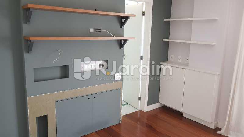 SUÍTE 2  - Apartamento Rua Carvalho Azevedo,Lagoa, Zona Sul,Rio de Janeiro, RJ À Venda, 3 Quartos, 204m² - LAAP32031 - 8