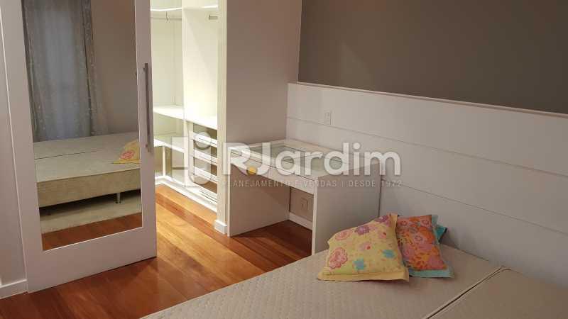 SUÍTE MASTER  - Apartamento Rua Carvalho Azevedo,Lagoa, Zona Sul,Rio de Janeiro, RJ À Venda, 3 Quartos, 204m² - LAAP32031 - 11
