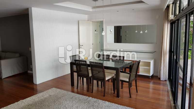 SALA DE JANTAR  - Apartamento Rua Carvalho Azevedo,Lagoa, Zona Sul,Rio de Janeiro, RJ À Venda, 3 Quartos, 204m² - LAAP32031 - 14