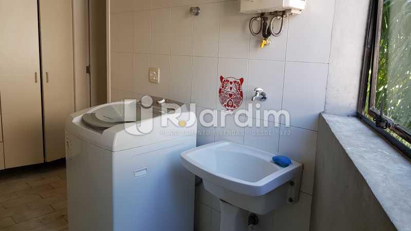 ÁREA DE SERVIÇO  - Apartamento Rua Carvalho Azevedo,Lagoa, Zona Sul,Rio de Janeiro, RJ À Venda, 3 Quartos, 204m² - LAAP32031 - 19