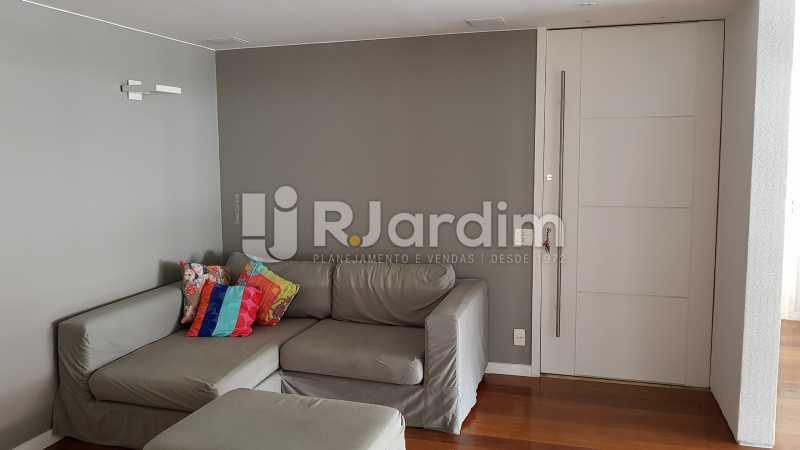 ENTRADA E SALA DE ESTAR - Apartamento para alugar Rua Carvalho Azevedo,Lagoa, Zona Sul,Rio de Janeiro - R$ 8.000 - LAAP32034 - 3