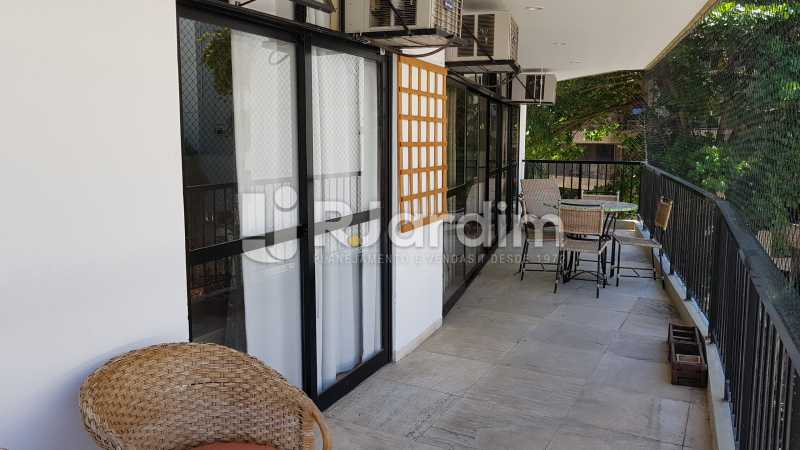 VARANDA SALAS E SUÍTE MASTER  - Apartamento para alugar Rua Carvalho Azevedo,Lagoa, Zona Sul,Rio de Janeiro - R$ 8.000 - LAAP32034 - 14