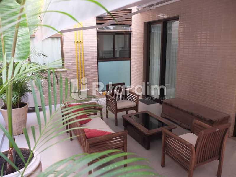 terraço - Apartamento 3 quartos à venda Ipanema, Zona Sul,Rio de Janeiro - R$ 3.000.000 - LAAP32035 - 22