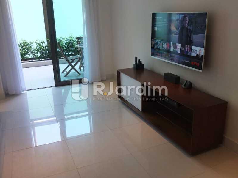 varanda e sala - Apartamento 3 quartos à venda Ipanema, Zona Sul,Rio de Janeiro - R$ 3.000.000 - LAAP32035 - 1