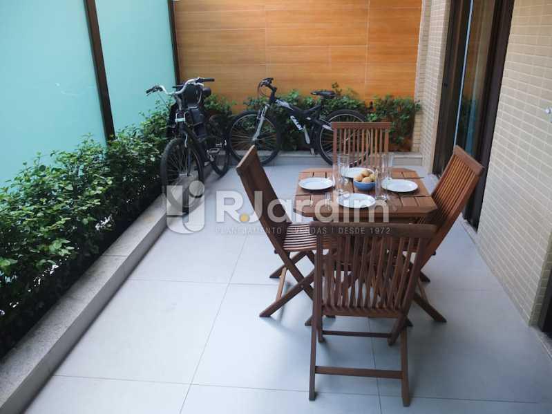 terraço - Apartamento 3 quartos à venda Ipanema, Zona Sul,Rio de Janeiro - R$ 3.000.000 - LAAP32035 - 24