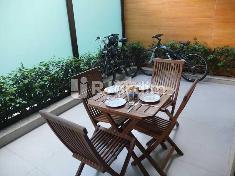 terraço - Apartamento 3 quartos à venda Ipanema, Zona Sul,Rio de Janeiro - R$ 3.000.000 - LAAP32035 - 25