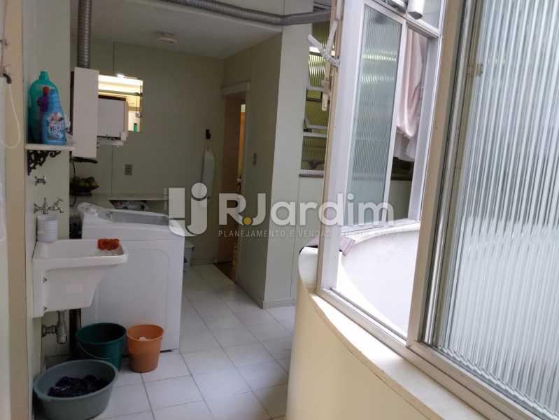 Área de serviço - Apartamento à venda Rua Constante Ramos,Copacabana, Zona Sul,Rio de Janeiro - R$ 2.200.000 - LAAP40758 - 21