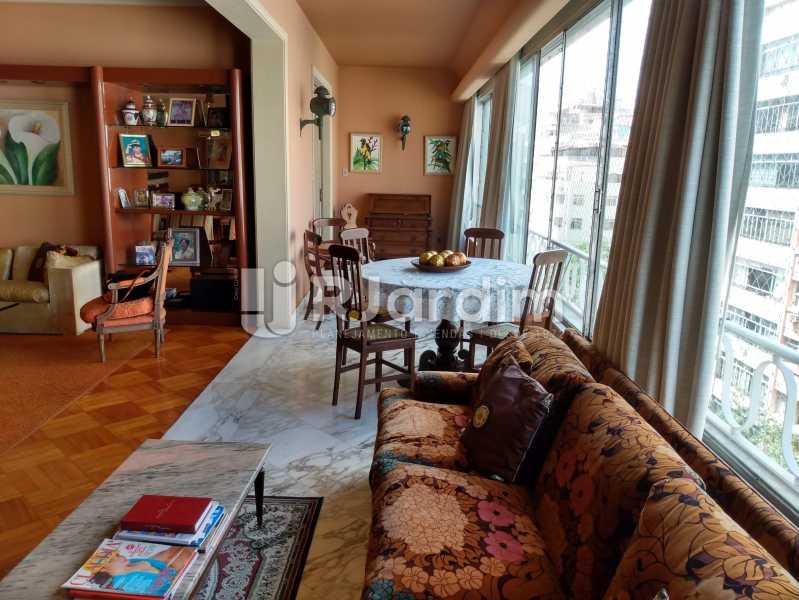 Varanda - Apartamento à venda Rua Constante Ramos,Copacabana, Zona Sul,Rio de Janeiro - R$ 2.200.000 - LAAP40758 - 3
