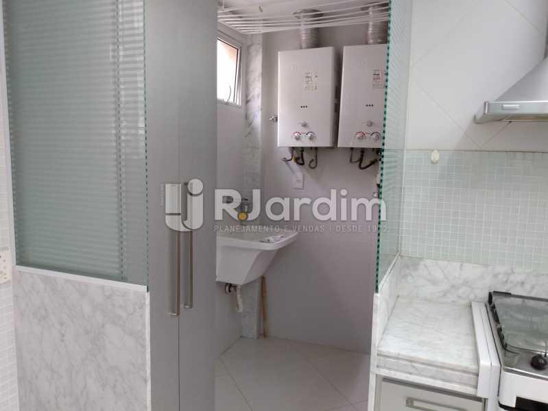 Área de serviço - Apartamento À Venda - Leblon - Rio de Janeiro - RJ - LAAP32040 - 18