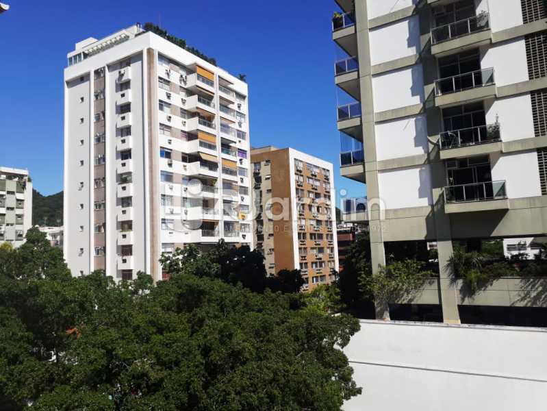 vista da sala - Apartamento Jardim Botânico 2 Quartos Aluguel Administração Imóveis - LAAP21428 - 6