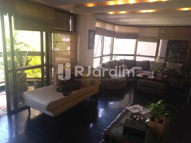 Sala - Compra Venda Avaliação Imóveis Apartamento Lagoa 4 Quartos - LAAP40760 - 4