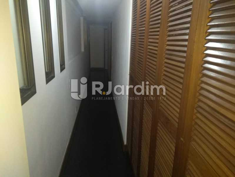 Corredor - Compra Venda Avaliação Imóveis Apartamento Lagoa 4 Quartos - LAAP40760 - 10