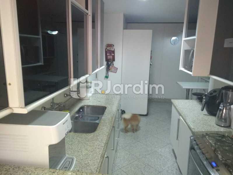 Cozinha - Compra Venda Avaliação Imóveis Apartamento Lagoa 4 Quartos - LAAP40760 - 25