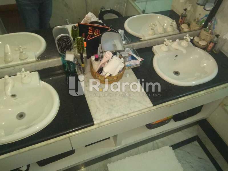 Banheiro Suíte - Compra Venda Avaliação Imóveis Apartamento Lagoa 4 Quartos - LAAP40760 - 23