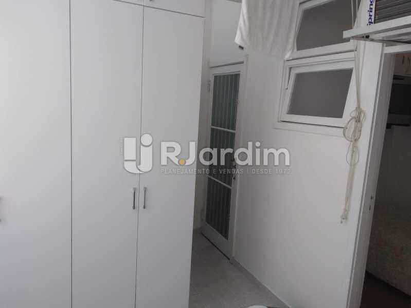 Área de Serviço - Apartamento À Venda Rua Barão da Torre,Ipanema, Zona Sul,Rio de Janeiro - R$ 3.800.000 - LAAP32043 - 31