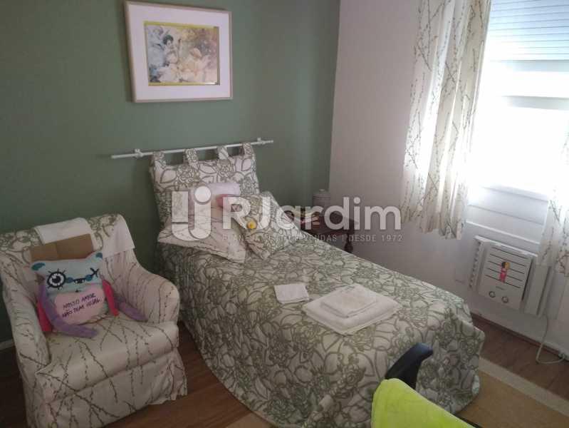 Quarto 1 - Apartamento À Venda Rua Barão da Torre,Ipanema, Zona Sul,Rio de Janeiro - R$ 3.800.000 - LAAP32043 - 13
