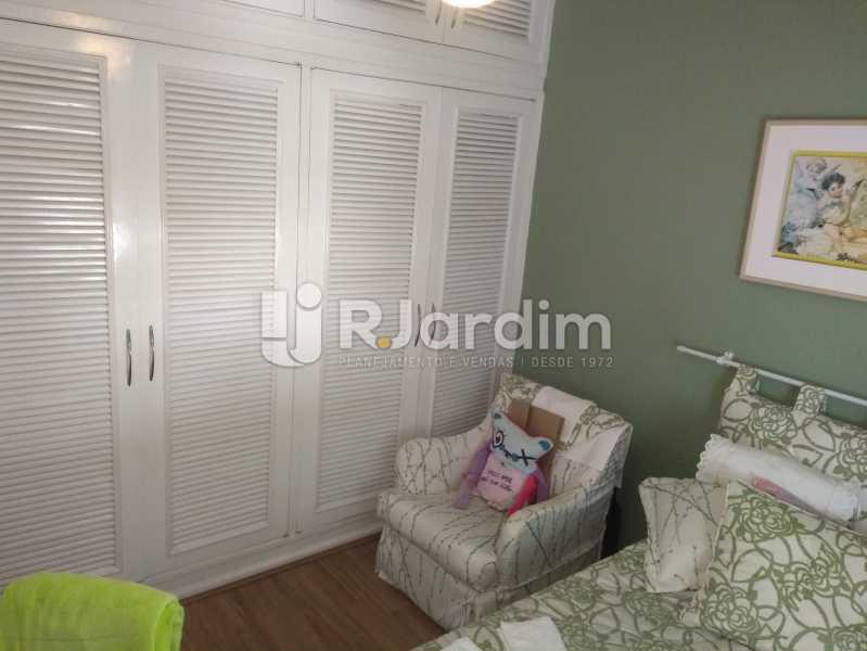 Quarto 1 - Apartamento À Venda Rua Barão da Torre,Ipanema, Zona Sul,Rio de Janeiro - R$ 3.800.000 - LAAP32043 - 14