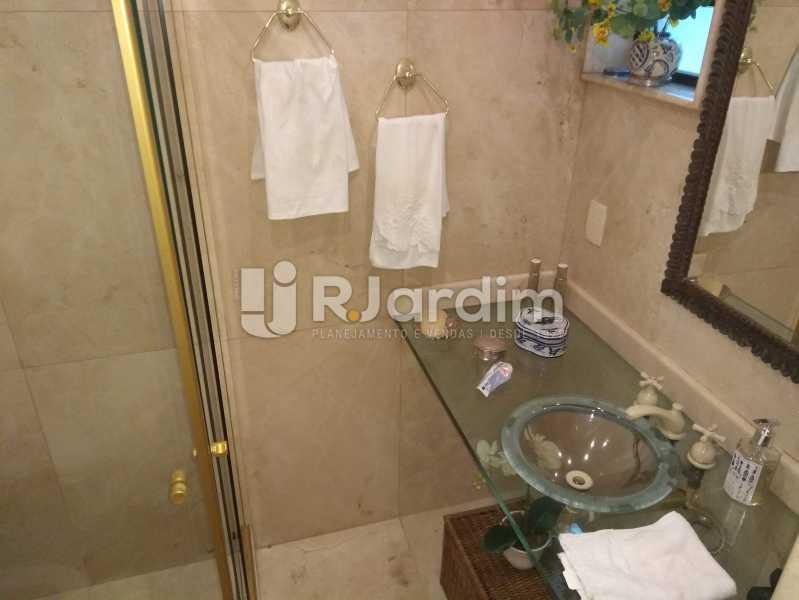 Banheiro Social - Apartamento À Venda Rua Barão da Torre,Ipanema, Zona Sul,Rio de Janeiro - R$ 3.800.000 - LAAP32043 - 23