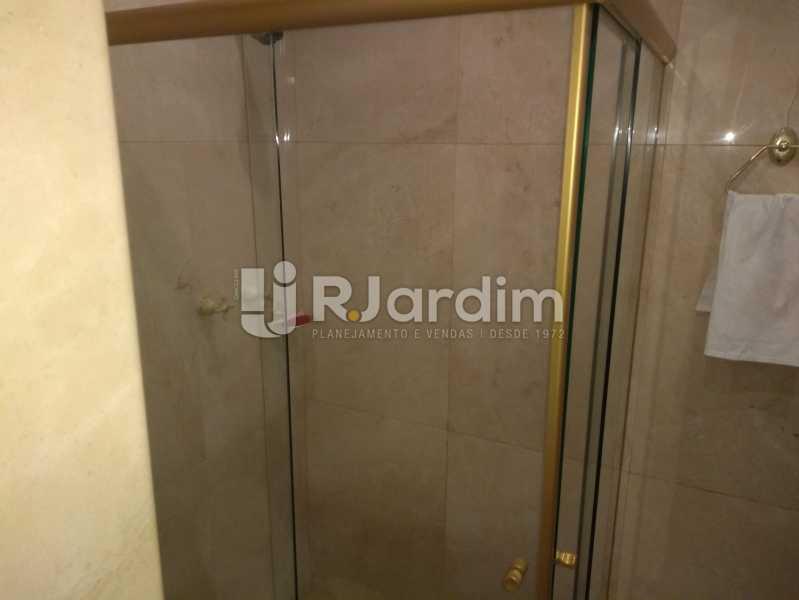 Banheiro Social - Apartamento À Venda Rua Barão da Torre,Ipanema, Zona Sul,Rio de Janeiro - R$ 3.800.000 - LAAP32043 - 22