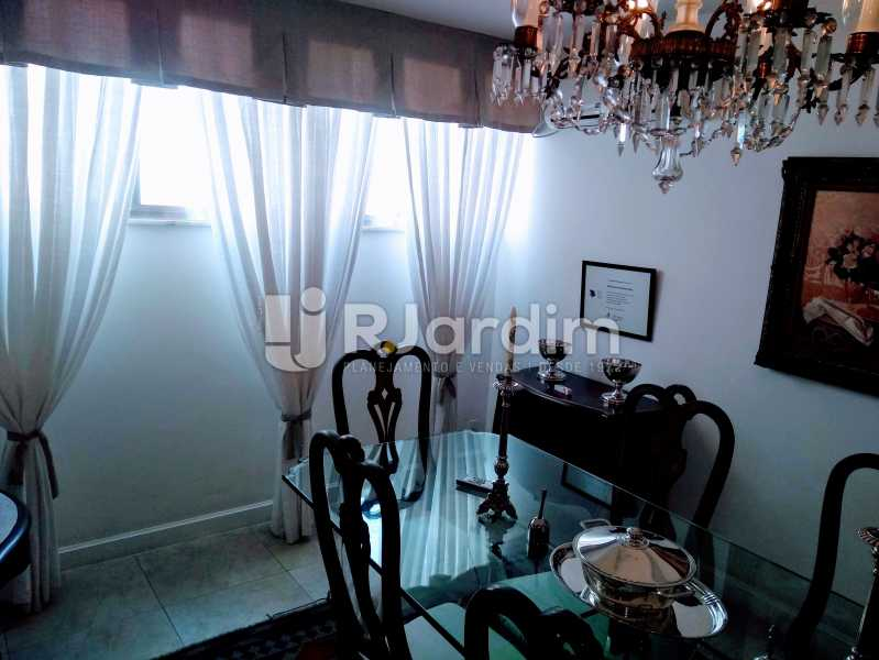Sala de Jantar - Apartamento À Venda Rua Barão da Torre,Ipanema, Zona Sul,Rio de Janeiro - R$ 3.800.000 - LAAP32043 - 12