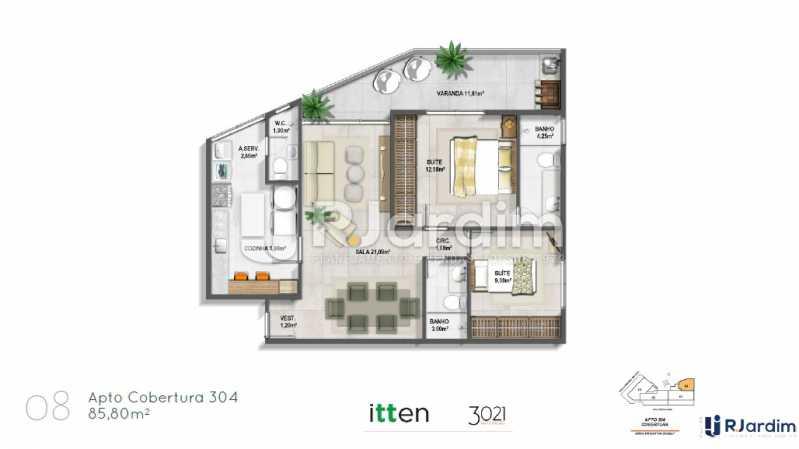 planta08 - Apartamento À Venda - Barra da Tijuca - Rio de Janeiro - RJ - LAAP32047 - 11