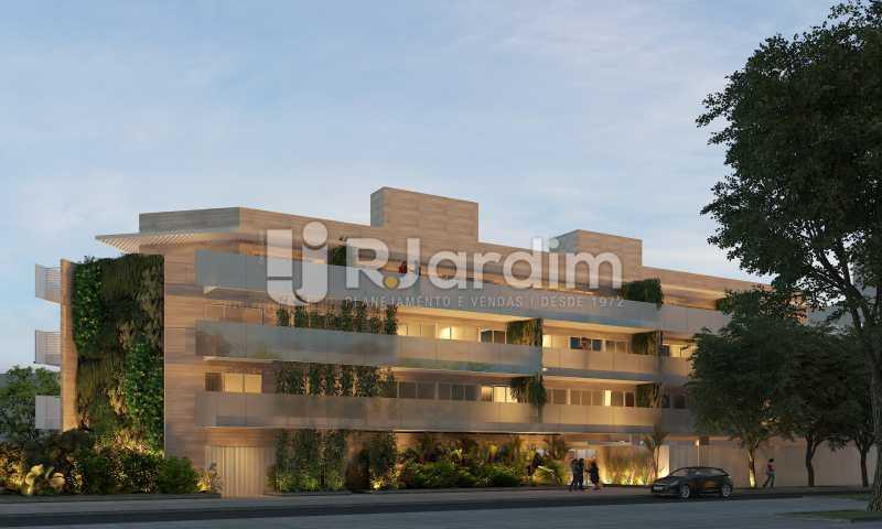 fachada - Apartamento À Venda - Barra da Tijuca - Rio de Janeiro - RJ - LAAP32047 - 1