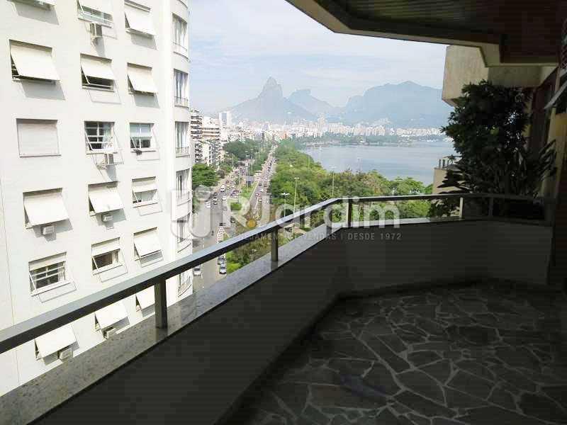 Varanda da SALA - Apartamento Ipanema 3 Quartos Compra Venda Avaliação Imóveis - LAAP32049 - 5