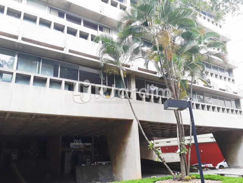 fachada do prédio - Apartamento de 3 quartos e, Ipanema - LAAP32051 - 18