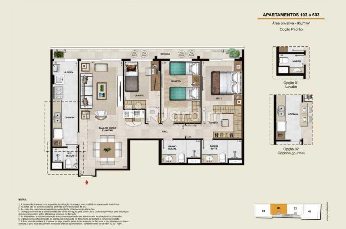 APARTAMENTOS 103 A 603 - Apartamento À Venda - Botafogo - Rio de Janeiro - RJ - LAAP40764 - 15