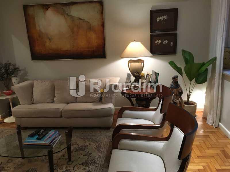 Sala de jantar - Apartamento Rua Artur Araripe,Gávea, Zona Sul,Rio de Janeiro, RJ À Venda, 3 Quartos, 117m² - LAAP32056 - 1