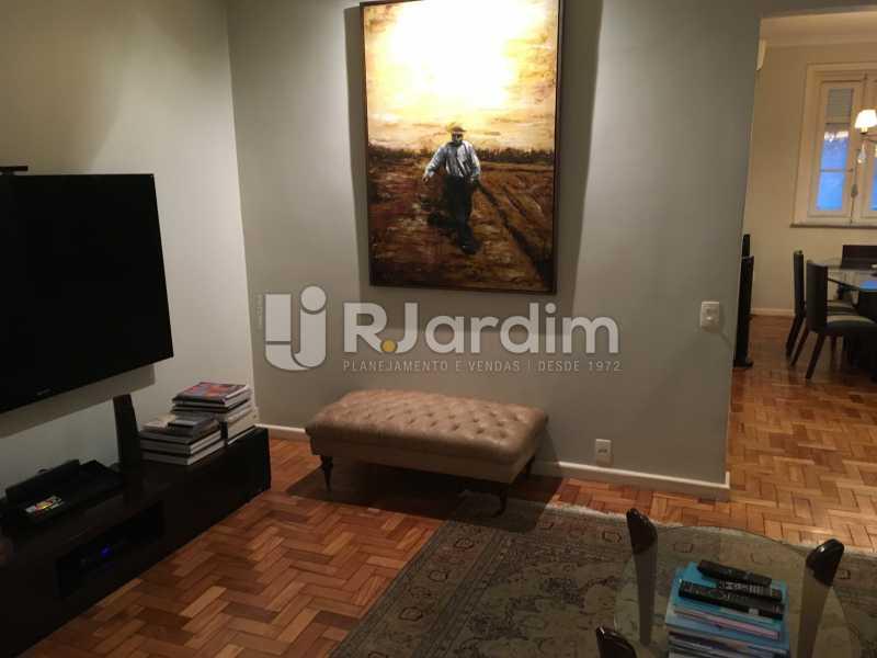 Sala de estar - Apartamento Rua Artur Araripe,Gávea, Zona Sul,Rio de Janeiro, RJ À Venda, 3 Quartos, 117m² - LAAP32056 - 7