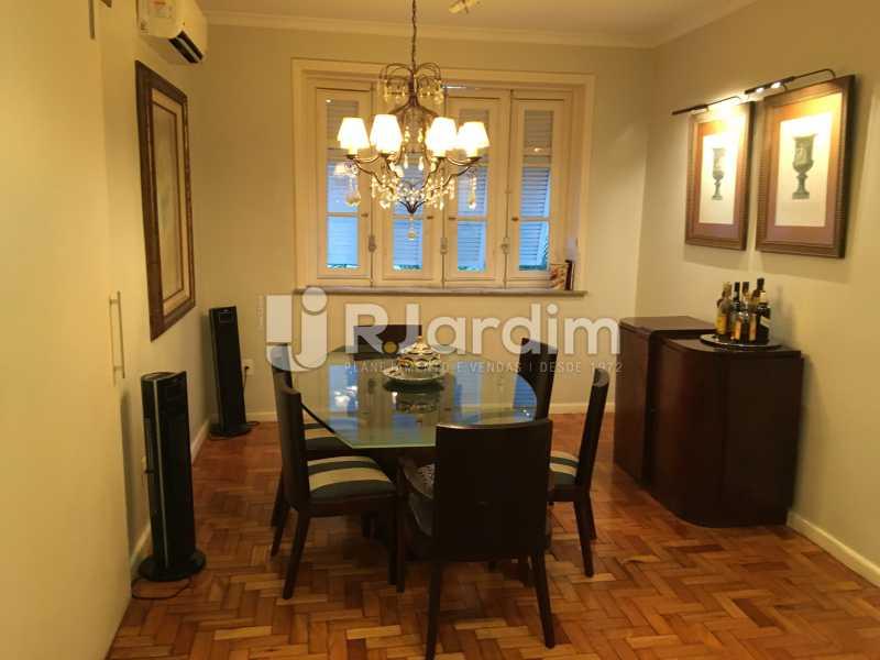 Sala de jantar - Apartamento Rua Artur Araripe,Gávea, Zona Sul,Rio de Janeiro, RJ À Venda, 3 Quartos, 117m² - LAAP32056 - 8
