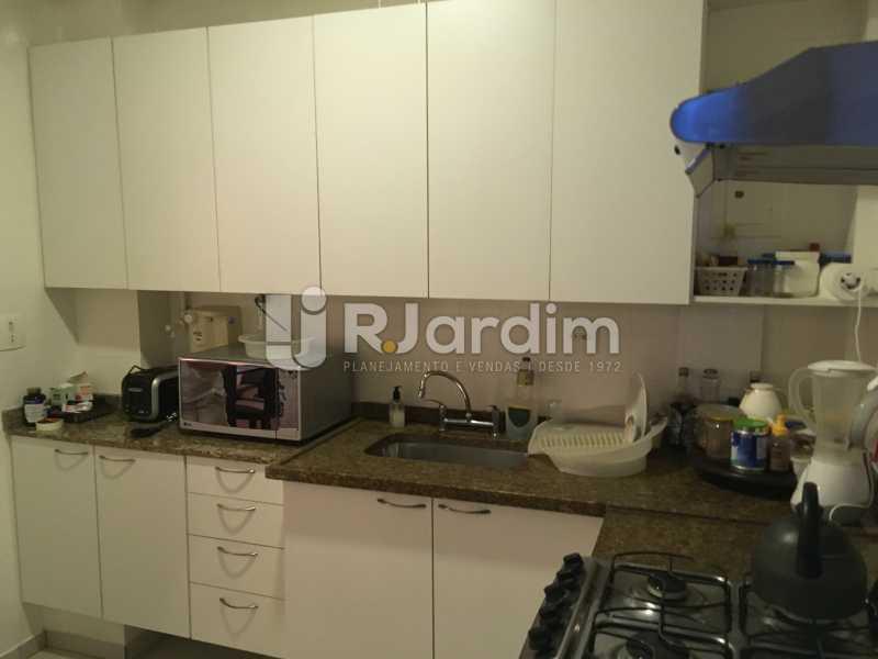 Cozinha - Apartamento Rua Artur Araripe,Gávea, Zona Sul,Rio de Janeiro, RJ À Venda, 3 Quartos, 117m² - LAAP32056 - 25