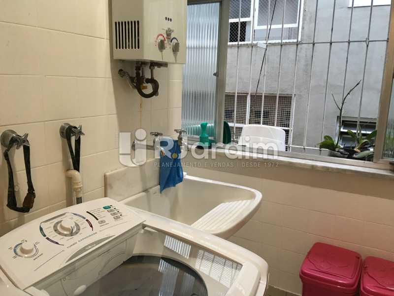Área de serviço - Apartamento Rua Artur Araripe,Gávea, Zona Sul,Rio de Janeiro, RJ À Venda, 3 Quartos, 117m² - LAAP32056 - 26