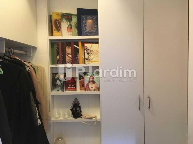Dependência - Apartamento Rua Artur Araripe,Gávea, Zona Sul,Rio de Janeiro, RJ À Venda, 3 Quartos, 117m² - LAAP32056 - 27