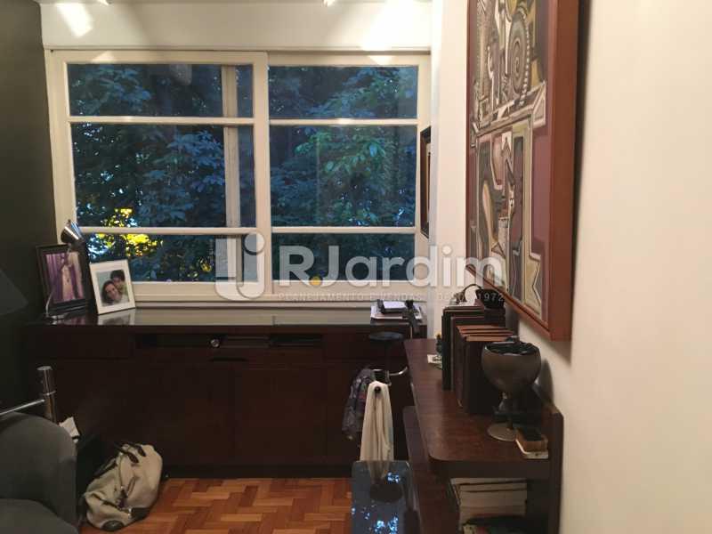 Quarto - Apartamento Rua Artur Araripe,Gávea, Zona Sul,Rio de Janeiro, RJ À Venda, 3 Quartos, 117m² - LAAP32056 - 19