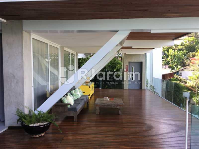 Terraço 2o. piso - Casa em Condomínio Joá 4 Quartos - LACN40018 - 13