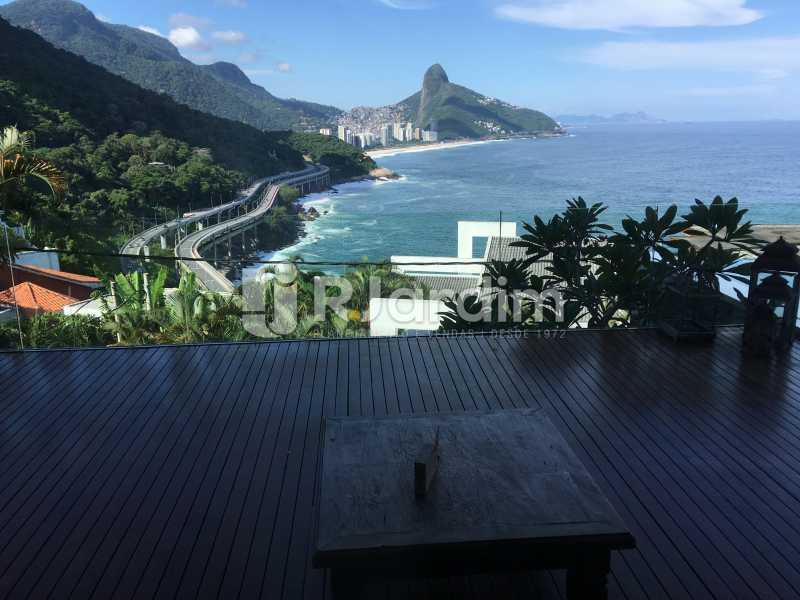 Vista terraço - Casa em Condomínio Joá 4 Quartos - LACN40018 - 10