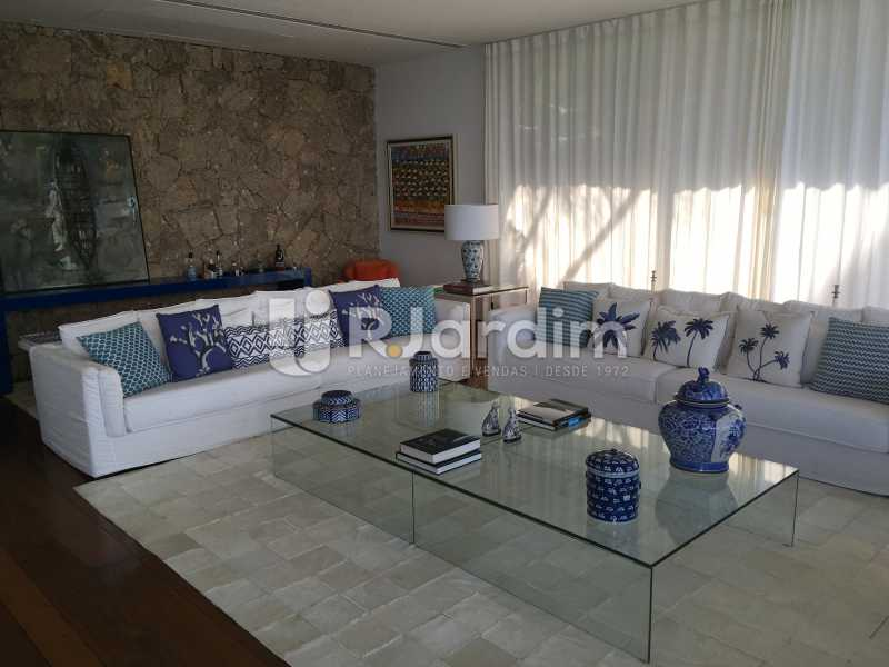 Sala de estar - Casa em Condomínio Joá 4 Quartos - LACN40018 - 14