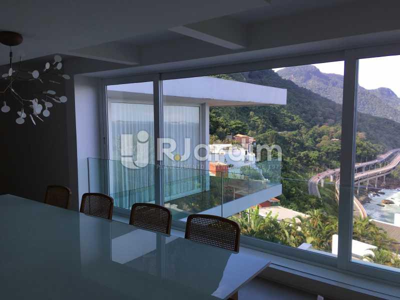 Sala de Jantar - Casa em Condomínio Joá 4 Quartos - LACN40018 - 20